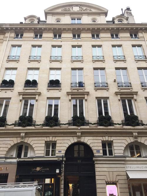 Immeuble locatif 231 rue Saint-Honoré