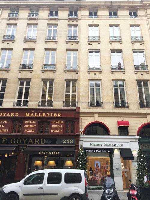 Immeuble locatif 235 rue Saint-Honoré