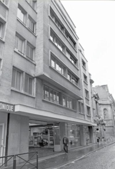 Logements Rue de Grenelle, état d'origine