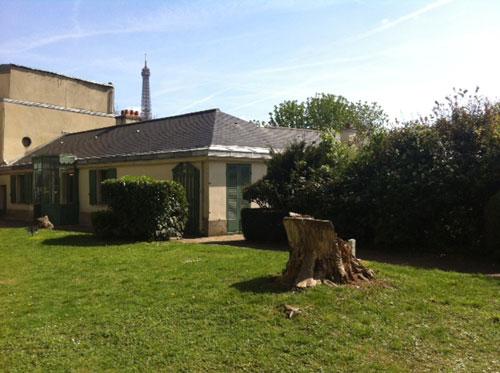 Le musée Balzac : il est installé dans le pavillon donnant sur la rue Reynouard