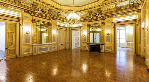 La palais Vivienne : salon de réception