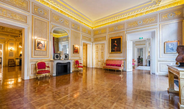 Le palais Vivienne : l'un des salons