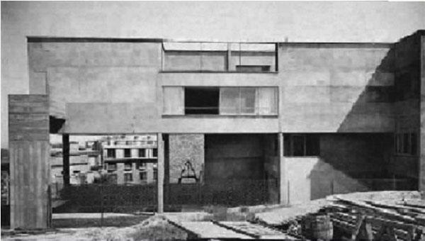 La maison Zilveli, état d'origine