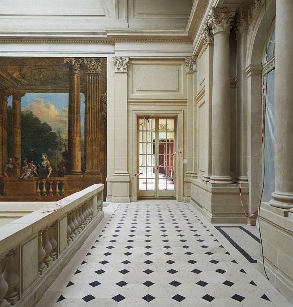 Le musée Carnavalet : le palier du grand escalier
